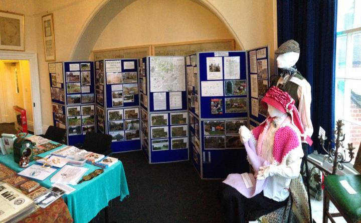 CUCT display at Cheadle Heritage Centre