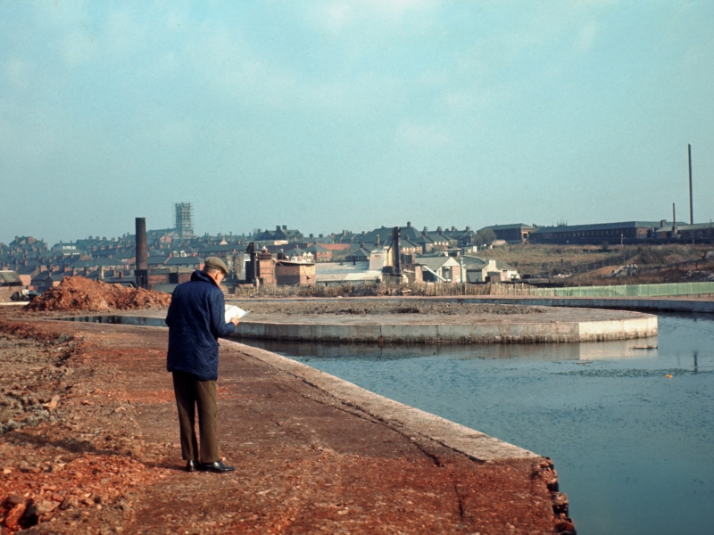 Etruria pictured by Harold Bode in 1973