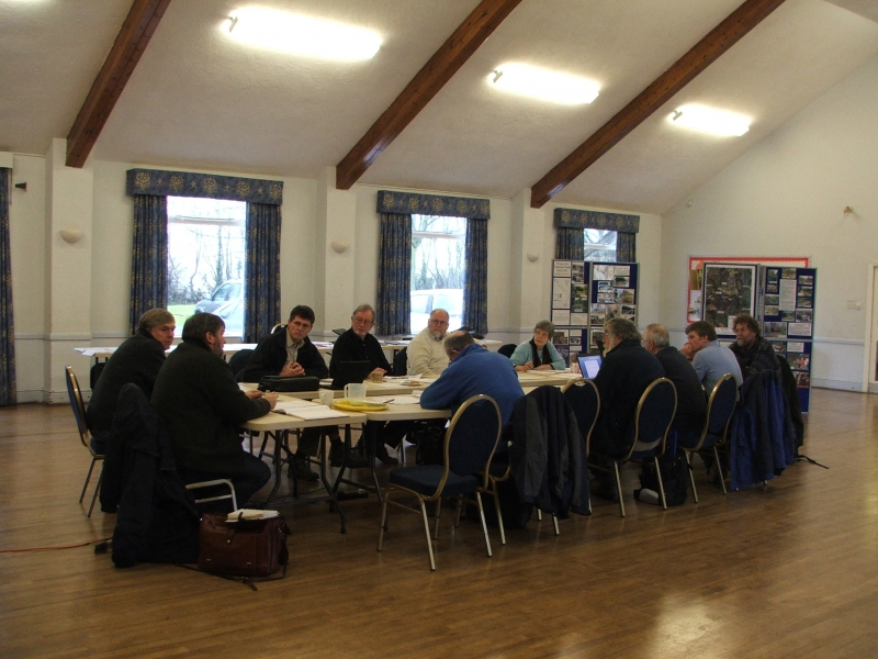 Meeting with WRG Restoration Committee, Denstone April 2011